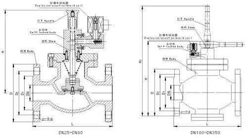 温度控制电磁阀电路图