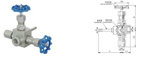 GMJ14F-250高密封取样阀结构图纸