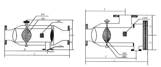 ZPG自动排污过滤器结构图纸