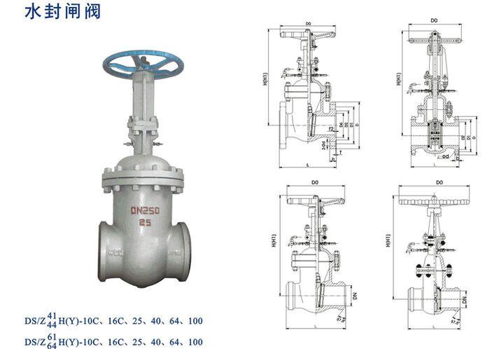上海吉迈阀门制造有限公司主要生产水封闸阀DSZ41H也是国内闸阀生产商之一。公司创建以来,始终致力于阀门的科技管理和不断创新,使企业走上了良性循环的规模化经营之路,拥有了一支专业的阀门设计和技术研发队伍,形成了一套完整的生产管理、质量管理、营销管理和服务管理体系。 水封闸阀DSZ41H产品概述: 本产品的阀盖填料室具有水密封结构,当接口通入压力O.